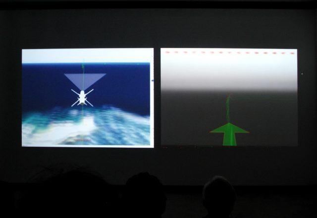 Eye / Machine II, Vista de Instalación
