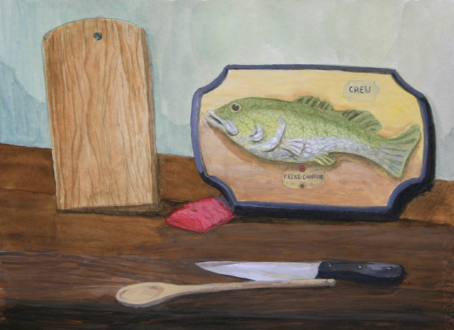 Ariel Cusnir. Cocina (de la serie Um Restaurante). 2013
