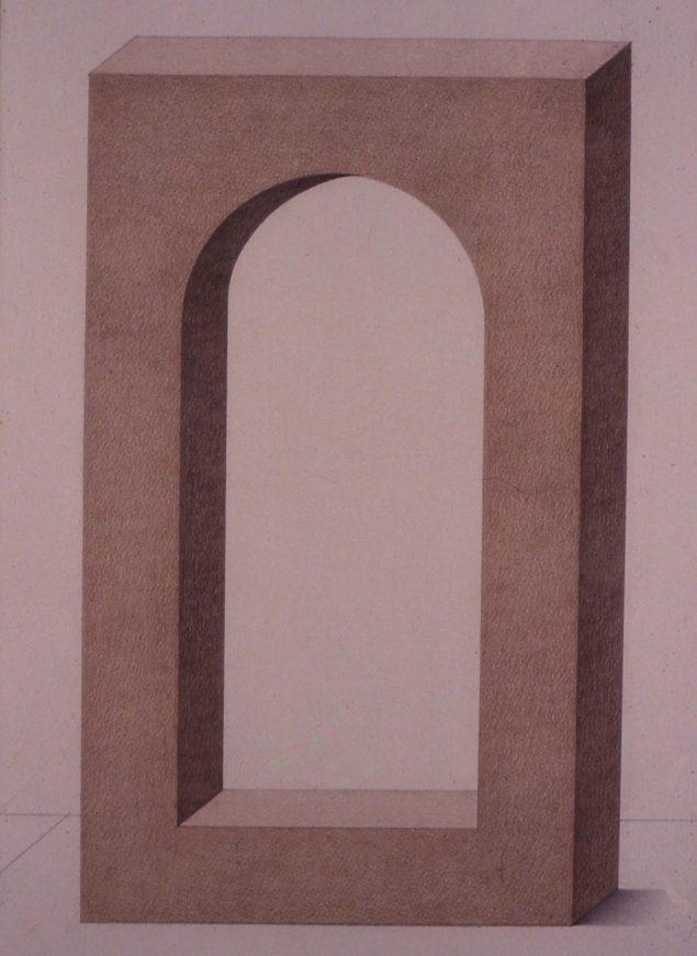 Roberto Aizenberg - Monumento (de la serie En memoria de Juan Batlle Planas) 1967