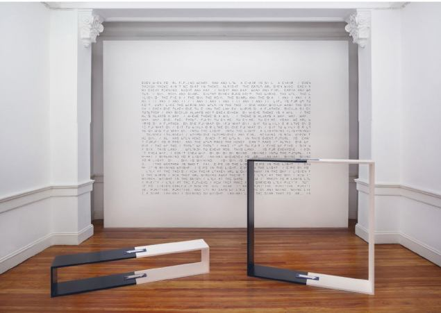 Pablo Accinelli - Circuitos, 2014 - Estructuras de aluminio recubiertas en madera, pintura para autos, chapas