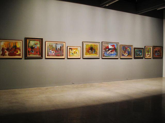 01-Exposicion-Vista de instalacion-Obras de Roberto Rossi