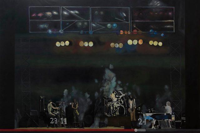 12-Pablo Cavallo- Algo que dura. oleo sobre tela 3,00 x 2,00 m