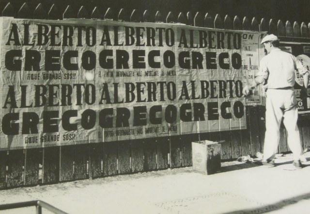 10-Alberto Greco-¡¡Que grande sos!!-Intervencion en el espacio publico Buenos Aires 1961