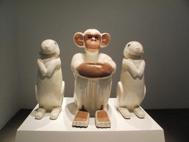 15-Edgardo Gimenez-El mono blanco y los conejos blancos
