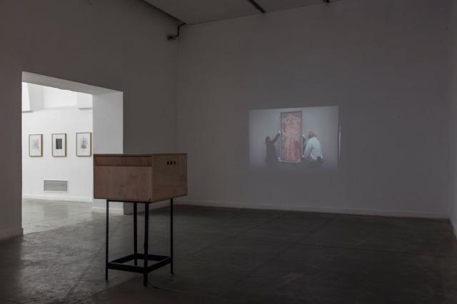 Paola_Vega_Museal_Develado-Obra en colaboración con Pedro Wainer-160 diapositivas de 35 mm. Dos proyectores-Un mueble_13