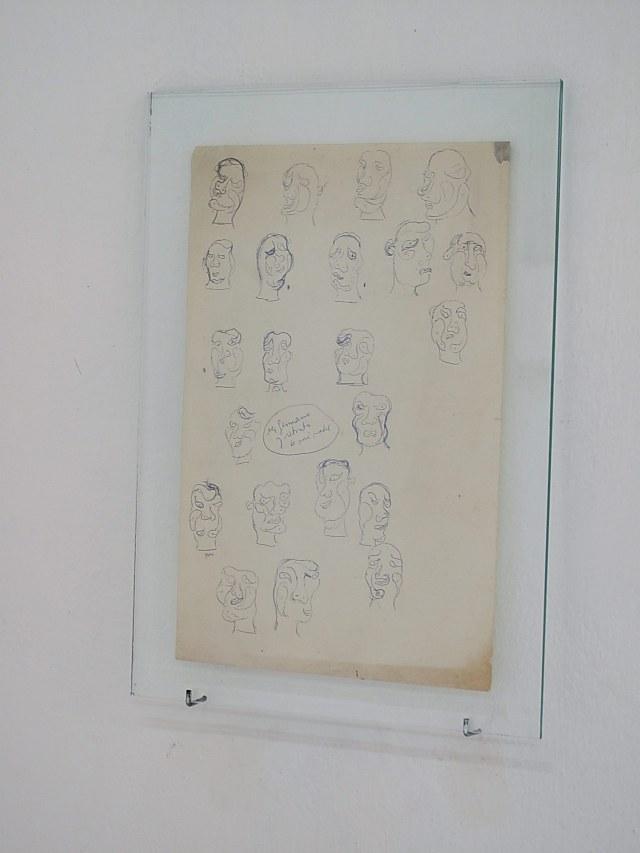 Ser germano, retrato de mi madre y otros dibujos de 1978-Jorge Gumier Maier_22