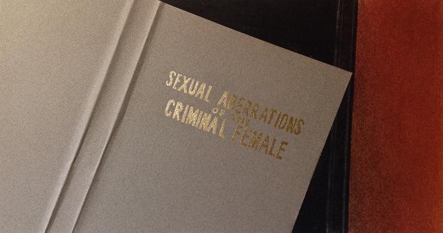 martin-sichetti-sexual-aberrations-of-the-criminal-female-serie-stills-2016-dibujo-collage-lapiz-pastel-y-dorado-a-la-hoja-sobre-papel-185-x-345-cm